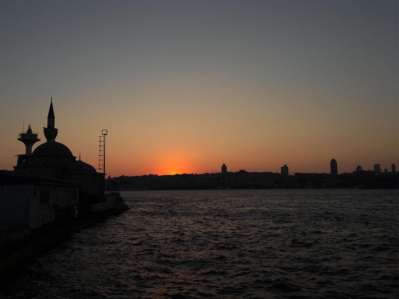 İstanbul'da Gün Batışı